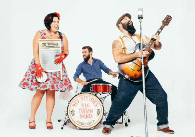 Afbeelding voor Reverend Peyton's Big Damn Band